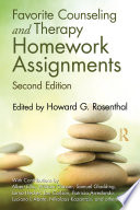 Favorite Counseling and Therapy Homework Assignments