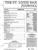 St Louis Bar Journal