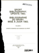 Sport Bibliography  Sport sciences