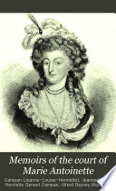 Memoirs Of The Court Of Marie Antoinette