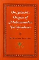 On Schacht's Origins of Muhammadan Jurisprudence