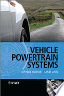 Vehicle Powertrain Systems Book