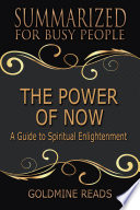 THE POWER OF NOW   Summarized for Busy People Book