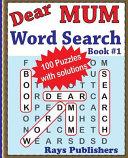 Dear Mum Word Search Book