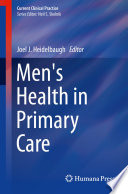 Men S Health In Primary Care Book PDF