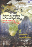 Remote Sensing in Snow Hydrology
