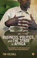 Business  Politics  and the State in Africa