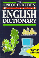 The Oxford Duden Pictorial English Dictionary