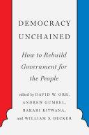 Democracy Unchained [Pdf/ePub] eBook