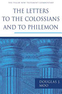 Pdf The Letters to the Colossians and to Philemon