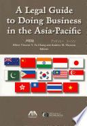 A Legal Guide To Doing Business In The Asia Pacific