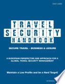 Travel Security Handbook Book