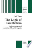 The Logic of Essentialism