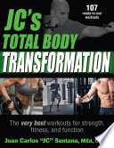 Jc S Total Body Transformation Book