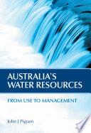 Australia s Water Resources