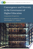 Convergence and Diversity in the Governance of Higher Education