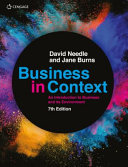 Business in context : an introduction to business and its environment.