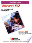 Word 97  : a comprehensive approach