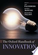 The Oxford Handbook of Innovation