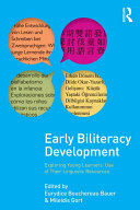 Early Biliteracy Development