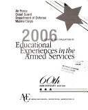 Guide To The Evaluation Of Educational Experiences In The Armed Services Book PDF