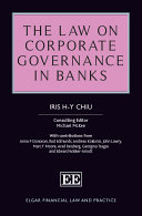 The Law on Corporate Governance in Banks