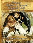 Victorian Children and Animals Grayscale Adult Coloring Book