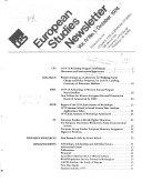 European Studies Newsletter