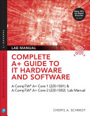 Pdf Complete A+ Guide to IT Hardware and Software Lab Manual Telecharger