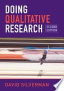 Doing Qualitative Research Book