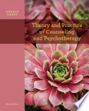 Theory And Practice Of Counseling And Psychotherapy Book