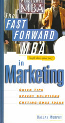 The Fast Forward MBA in Marketing Book