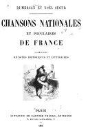 Chansons nationales et populaires de France