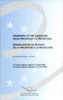 Awareness of the landscape ebook