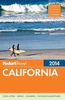 Fodor's California 2014