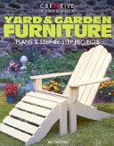 Yard and Garden Furniture