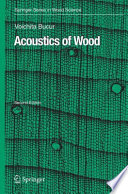 Acoustics of Wood Book