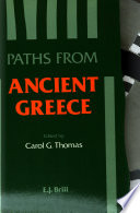 Paths from Ancient Greece Book