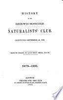 History of the Berwickshire Naturalists  Club
