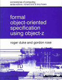 Formal Object oriented Specification Using Object Z