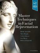 Master Techniques in Facial Rejuvenation Book