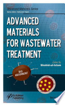 Book Cover: Advanced Materials for Wastewater Treatment