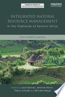 Integrated Natural Resource Management In The Highlands Of Eastern Africa