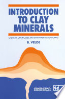 Introduction to Clay Minerals