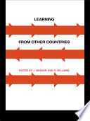 Learning from Other Countries  The Cross National Dimension in Urban Policy Making