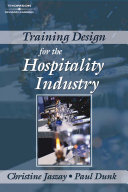 Training Design for the Hospitality Industry