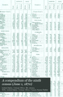 A Compendium of the Ninth Census
