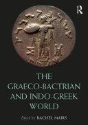 The Graeco-Bactrian and Indo-Greek World Pdf/ePub eBook