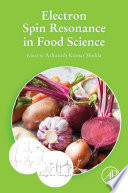 Electron Spin Resonance In Food Science Book PDF