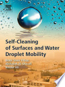 Self Cleaning Of Surfaces And Water Droplet Mobility